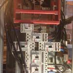 Conductor feed for individual electric panels at Sabino Canyon Rehab